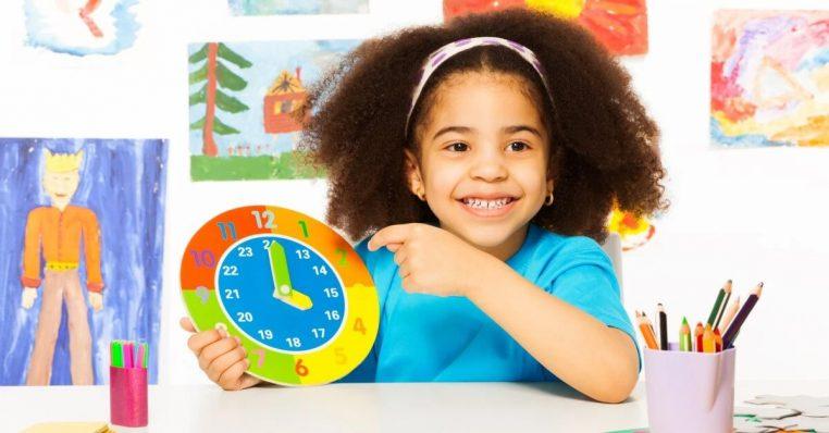 L'apprentissage du temps par l'enfant